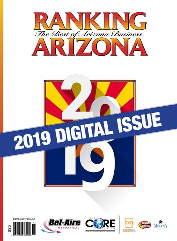 Ranking Arizona 2019 Digital Issue by AZ Big Media - issuu