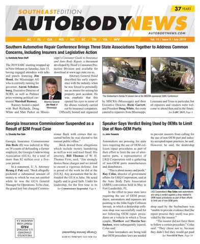July 2019 Southeast Edition by Autobody News - issuu