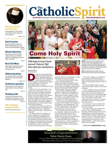 The Catholic Spirit - June 20, 2019