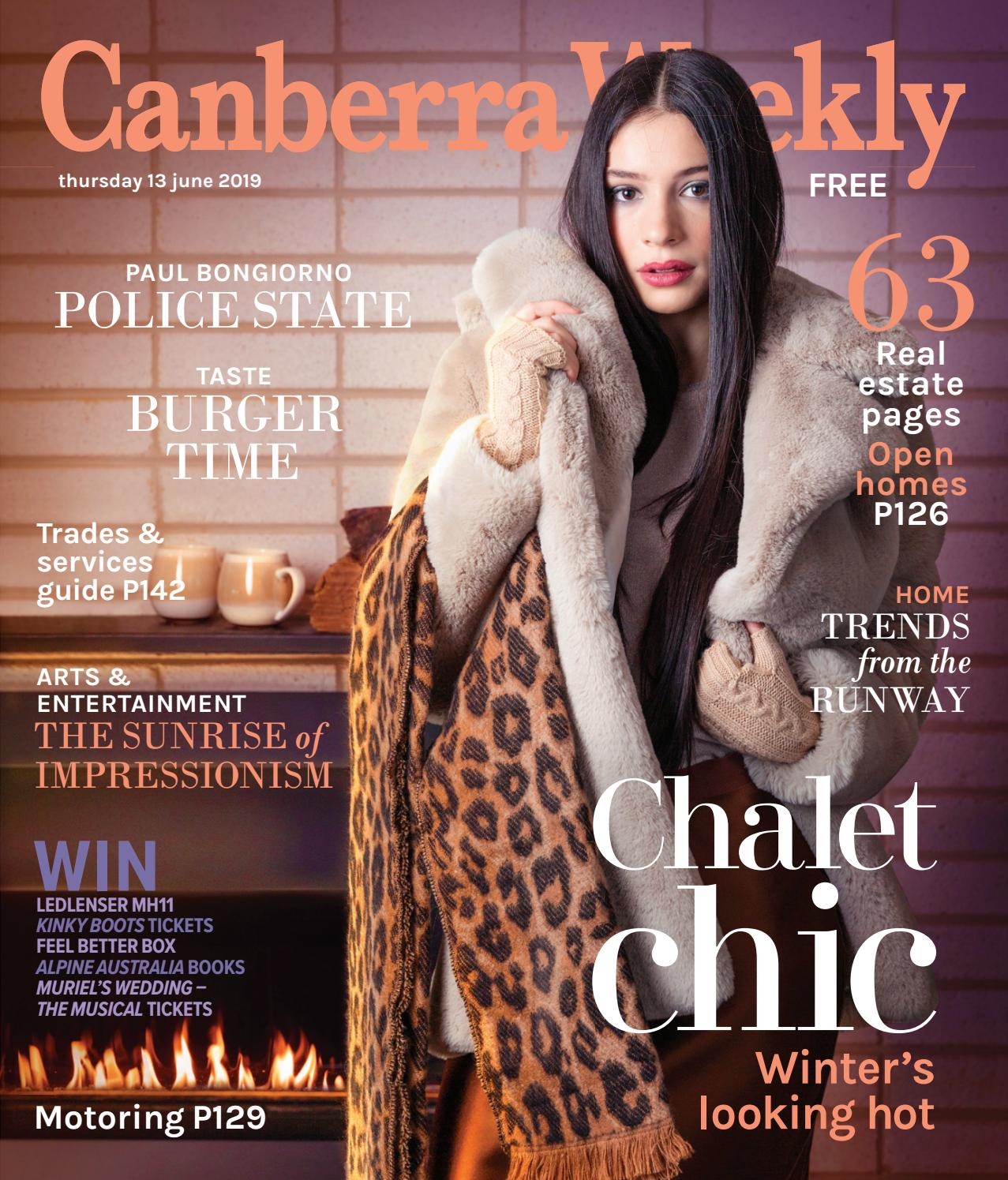 13 June 2019 by Canberra Weekly Magazine - issuu
