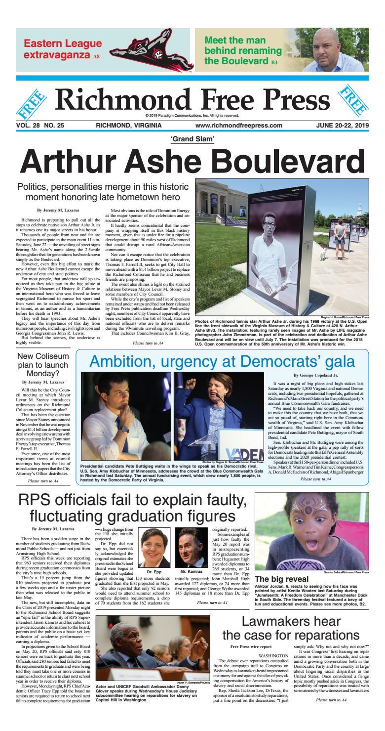 Richmond Free Press June 20 22 2019 edition by Richmond