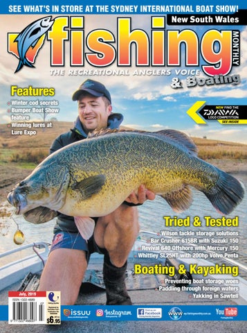 New South Wales Fishing Monthly July 2019 by Fishing Monthly