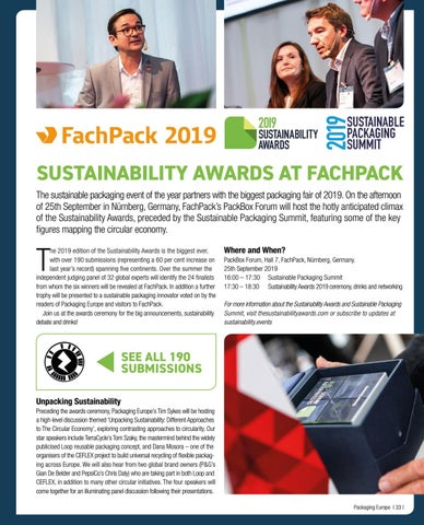 Page 35 of Sustainability Awards at FachPack