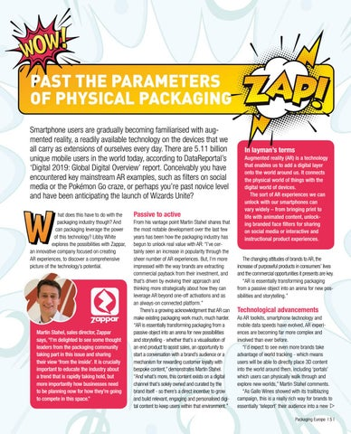 Page 7 of Past the parameters of physical packaging