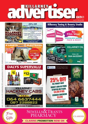 Killarney Advertiser 21st June 2019 by Killarney Advertiser