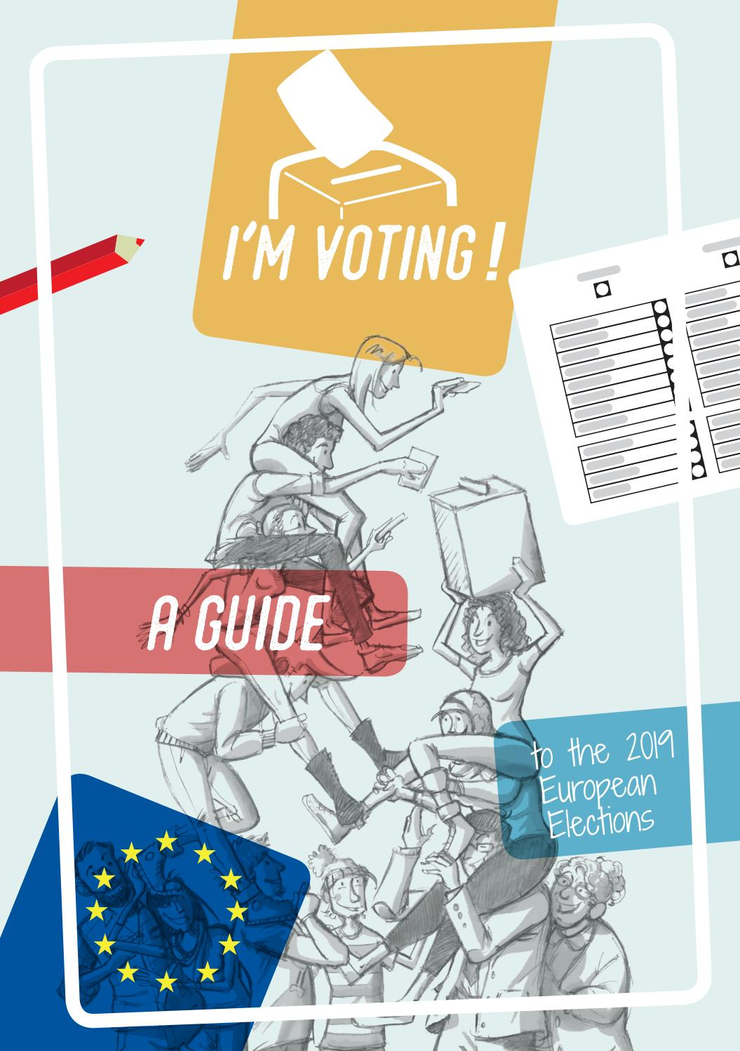 I'm voting ! A guide to the 2019 European elections by