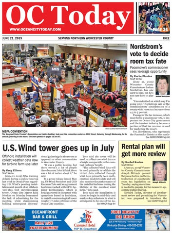 6/21/19 Ocean City Today by ocean city today - issuu