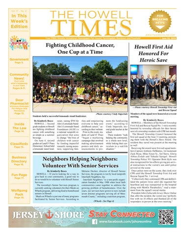 2019-04-27 - The Howell Times by Micromedia Publications/Jersey