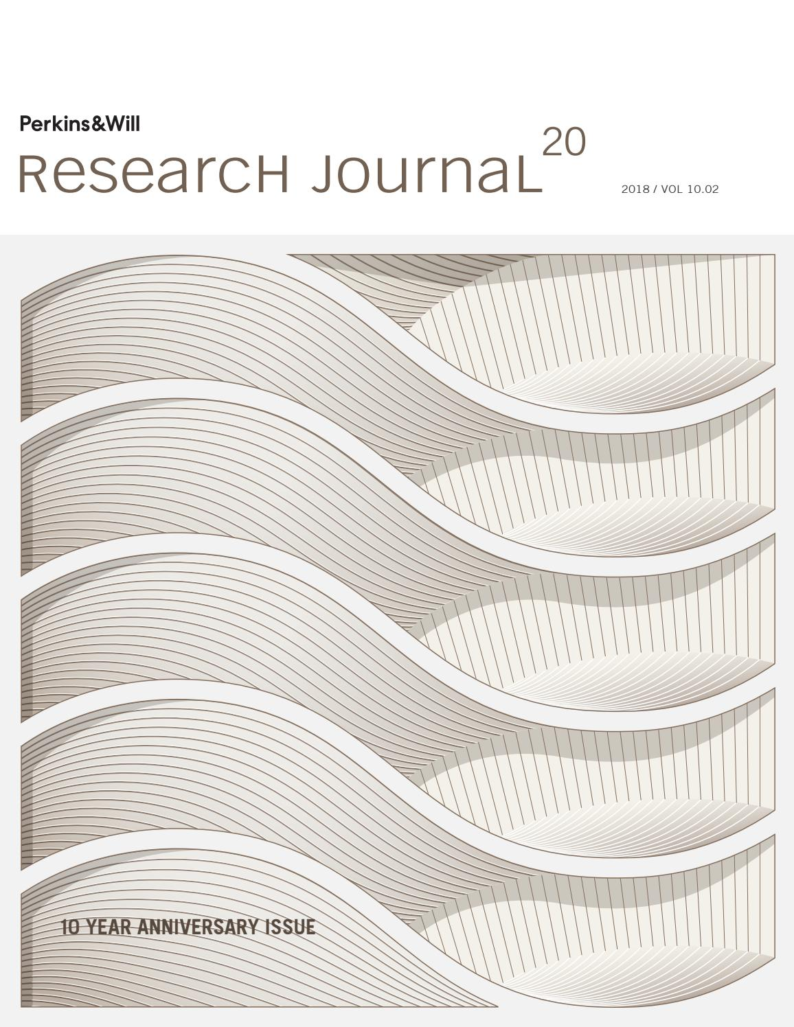 Research Journal: Vol  10 02 by Perkins and Will - issuu