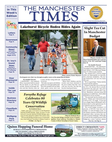 2019-06-22 - The Manchester Times by Micromedia Publications