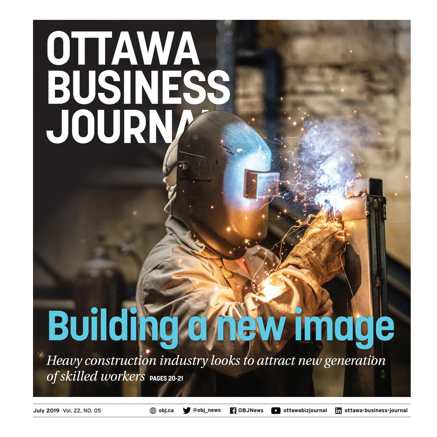 Ottawa Business Journal July 2019 by Great River Media inc