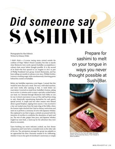 Page 23 of Did Someone Say Sashimi?