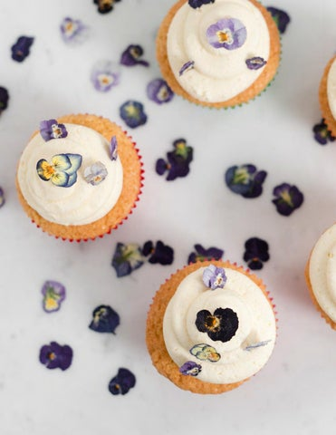 Page 100 of Orange Blossom Cupcakes with Dried Violas