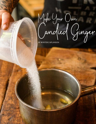 Page 142 of Make Your Own Candied Ginger