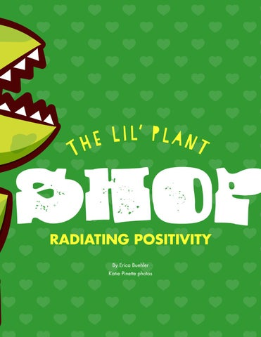 Page 33 of The Lil' Plant Shop: Radiating Positivity