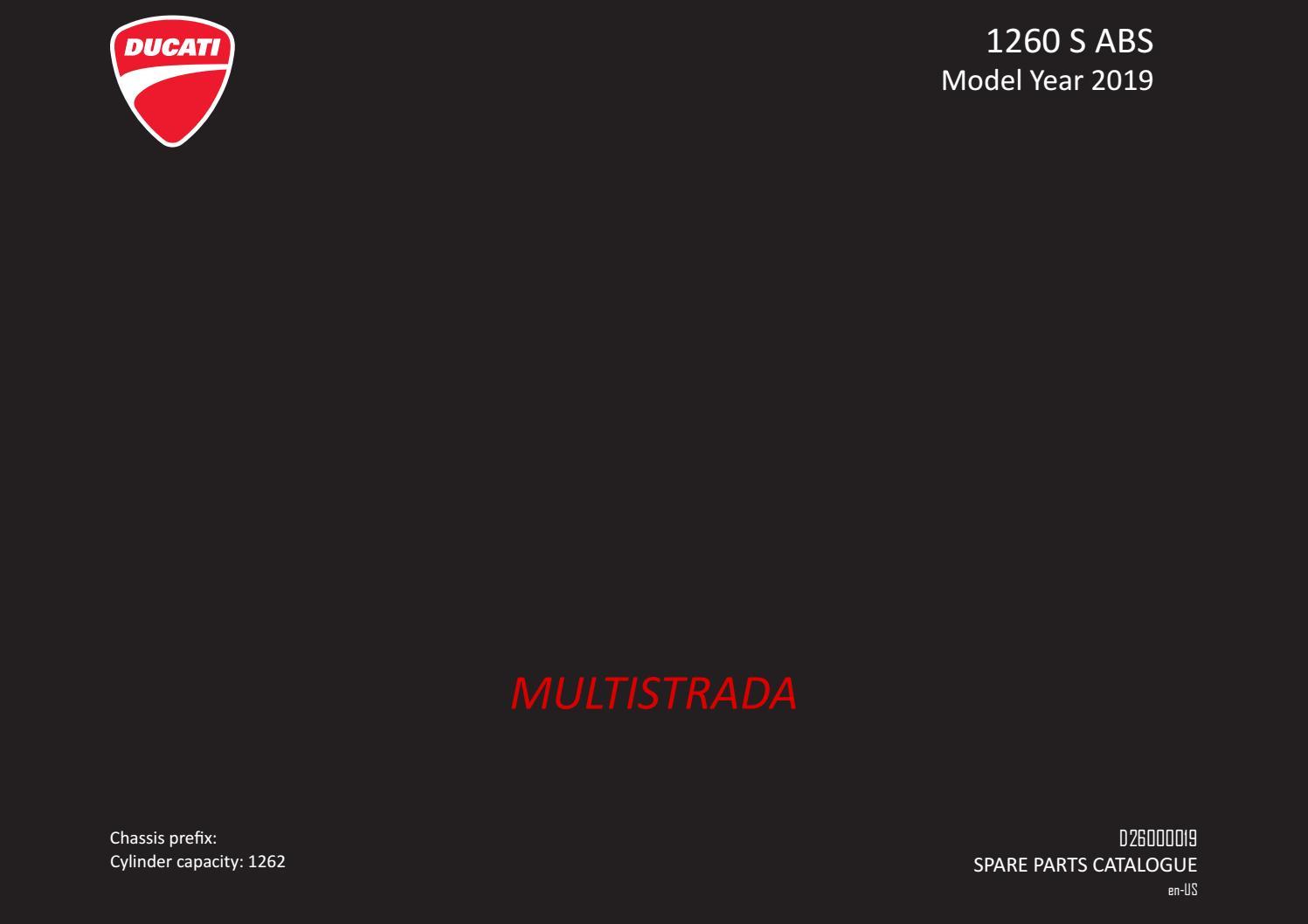 2019 Ducati Multistrada 1260 S Parts Diagram Ducati Omaha by