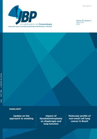 JBP - Volume 45, number 3, May/June 2019 by Jornal Brasileiro
