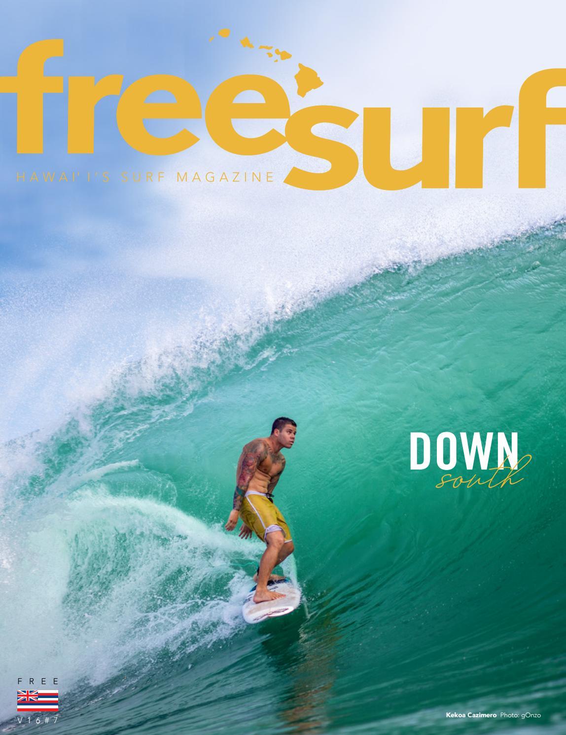 V16n7 Freesurf Magazine Down South By Freesurf Magazine Issuu