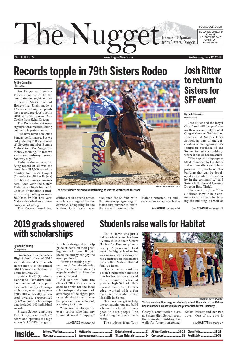 The Nugget Newspaper // Vol  XLII No  24 // 2019-06-12 by