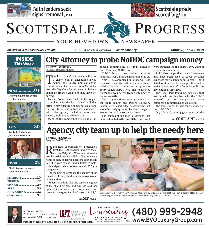 Scottsdale Progress 06-23-2019 by Times Media Group - issuu