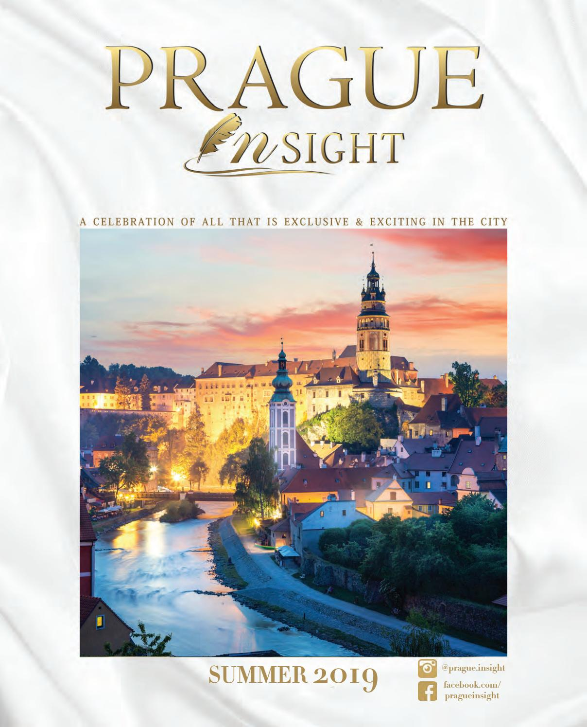 Prague Insight Summer 2019 - Issue 28 by Insight Magazines - issuu