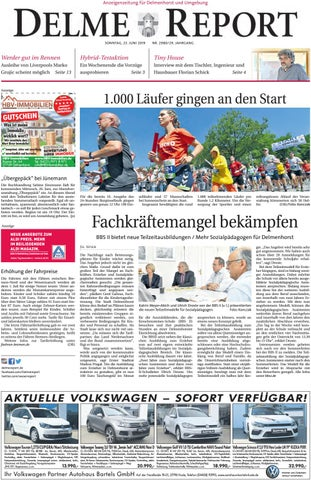 Delme Report vom 23.06.2019 by KPS Verlagsgesellschaft mbH - issuu