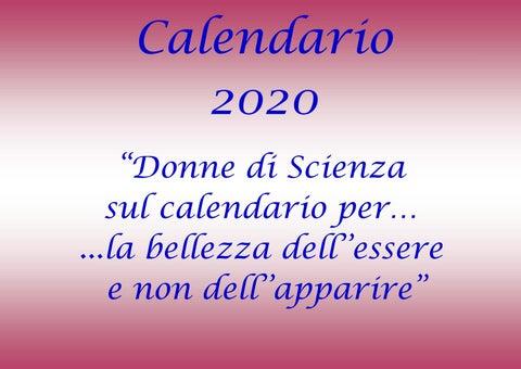 Calendario 2020 Donne.Calendario 2020 Donne Calendario 2020