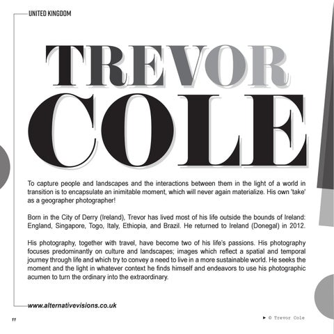 Page 12 of FEATURED | TREVOR COLE