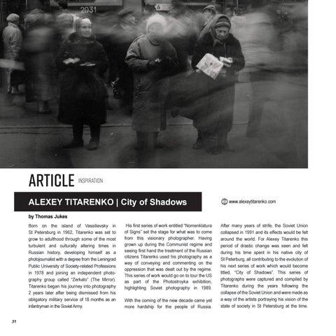 Page 32 of ALEXEY TITARENKO | City of Shadows