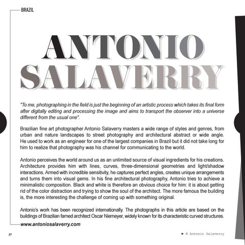 Page 38 of FEATURED | ANTONIO SALAVERRY