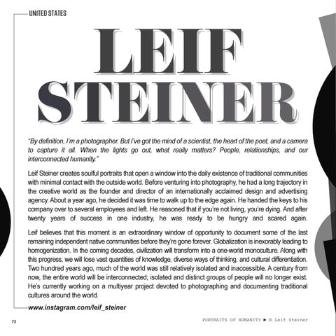 Page 74 of FEATURED | LEIF STEINER