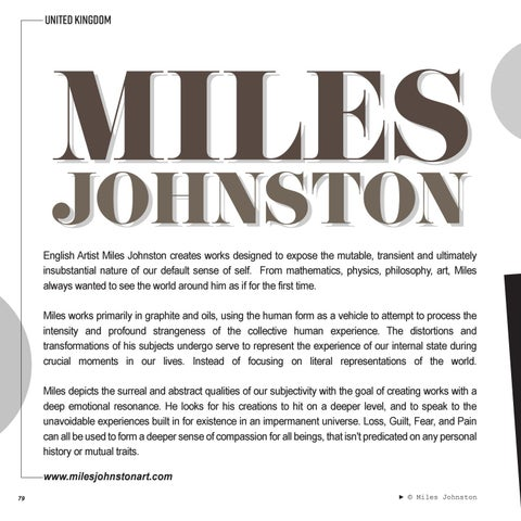 Page 80 of FEATURED | MILES JOHNSTON