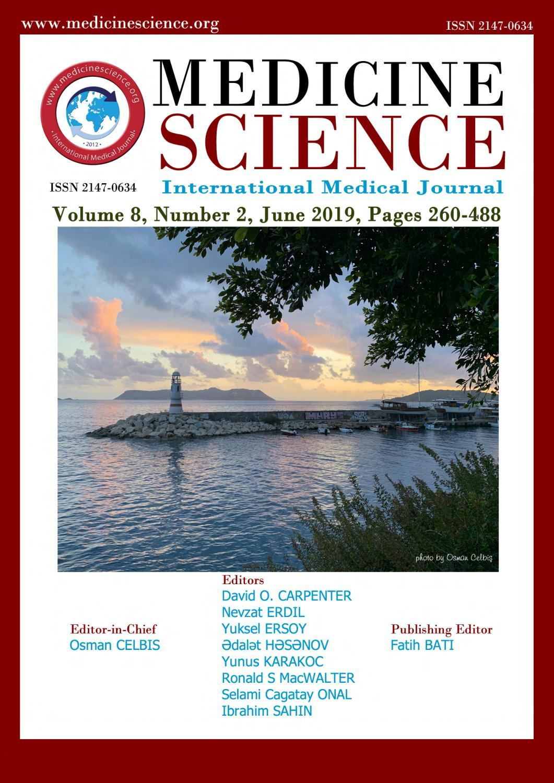 Medicine Science I International Medical Journal; E- Journal of ...