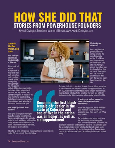 Page 14 of HOW SHE DID THAT: Startup Stories from Powerhouse Founders