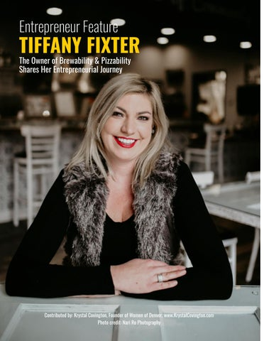 Page 4 of Entrepreneur Feature: Tiffany Fixter