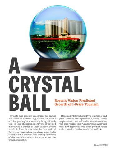 Page 39 of A Crystal Ball - Rosen's Vision Predicted Growth of I-Drive Tourism