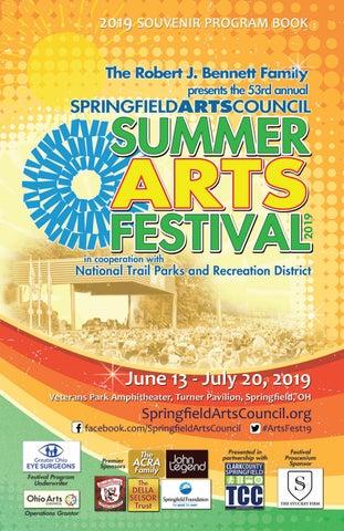 Summer Arts Festival 2019 Souvenir Program by Springfield