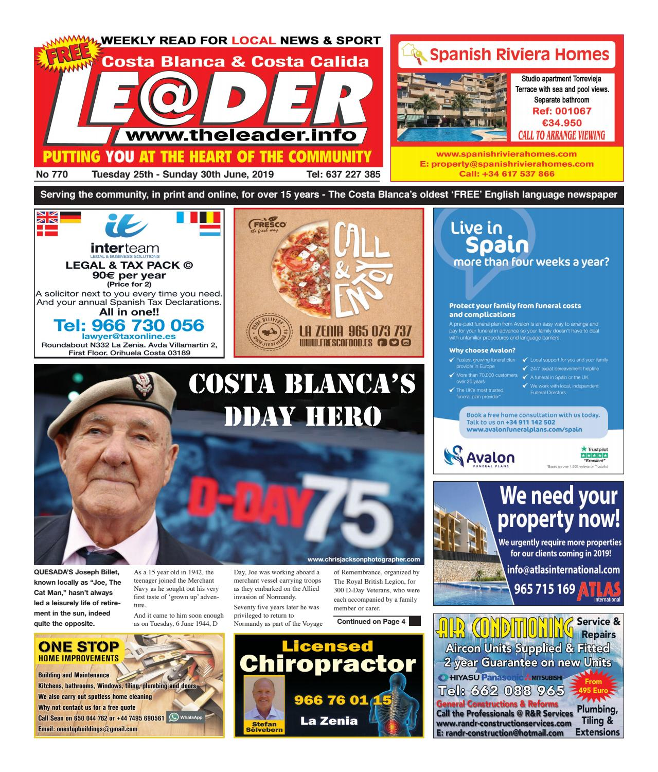 Edition 770 - The Leader Newspaper by The Leader - issuu