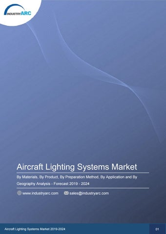 Aircraft Lighting Systems Market By