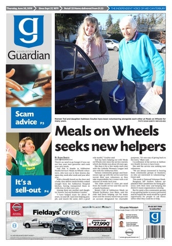 Ashburton Guardian, Thursday, June 20, 2019 by Ashburton
