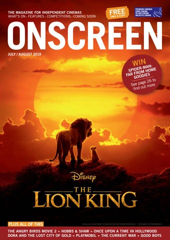 ONSCREEN Magazine July/August 2019 by ONSCREEN Magazine - issuu