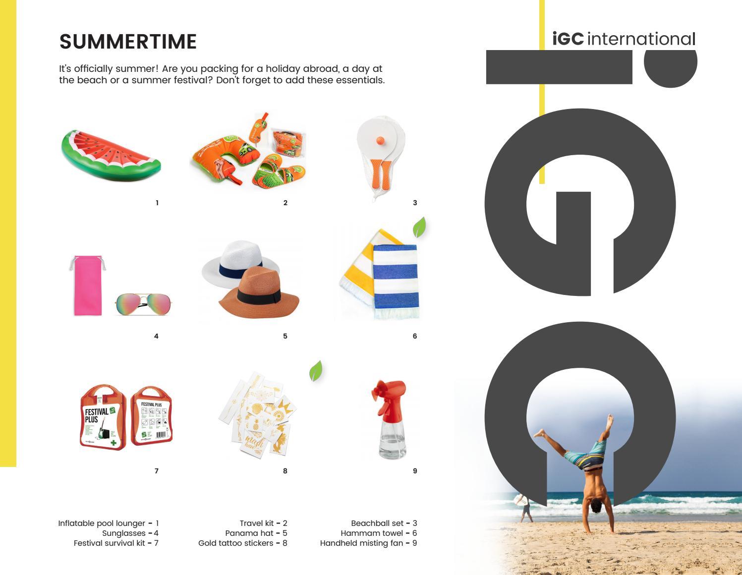 IGC International Summer Trends 2019 by IGC International - issuu