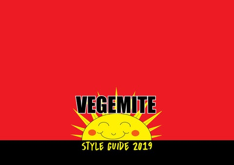 Vegemite Style Guide By Treehouse Design Issuu