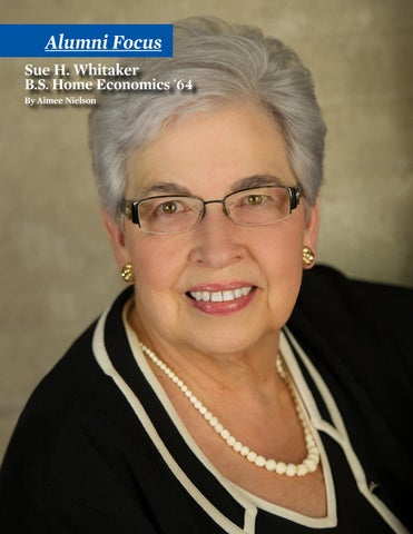 Page 14 of Alumni Focus - Sue H. Whitaker