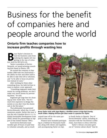 Page 11 of Business for the benefit of companies here and around the world