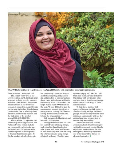 Page 15 of Clean technology ambassadors are changing Jordanian communities