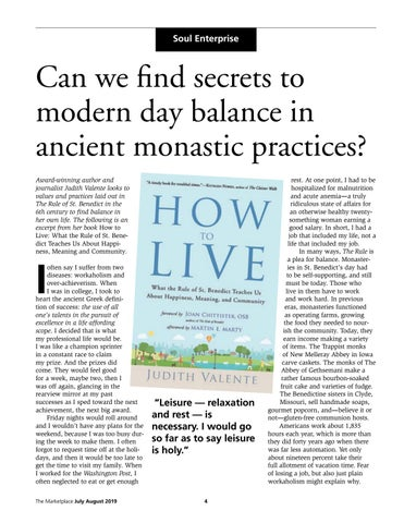 Page 4 of Can we find secrets to modern day balance in ancient monastic practices?