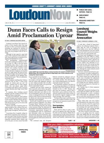 Loudoun Now for June 20, 2019 by Loudoun Now - issuu