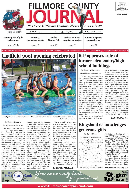 Fillmore County Journal - 6 24 19 by Jason Sethre - issuu