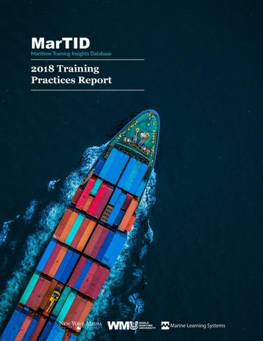 MarTID Survey Report 2018 by World Maritime University - issuu